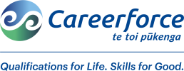 Careerforce Logo Blue stacked